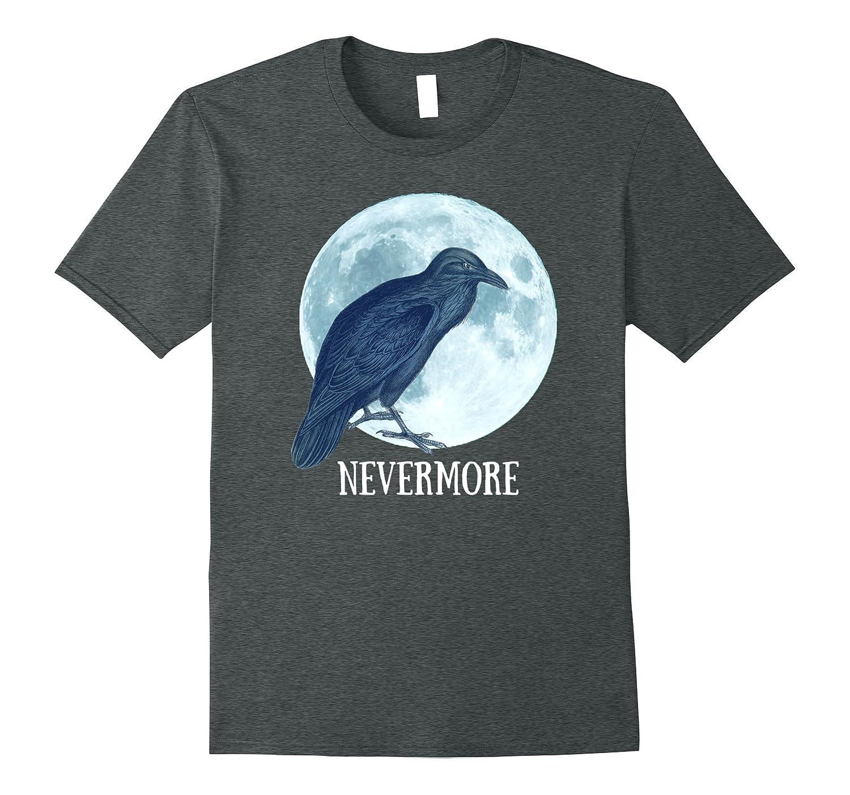 edgar allan poe nevermore spooky halloween t shirt - Spooky Halloween Store