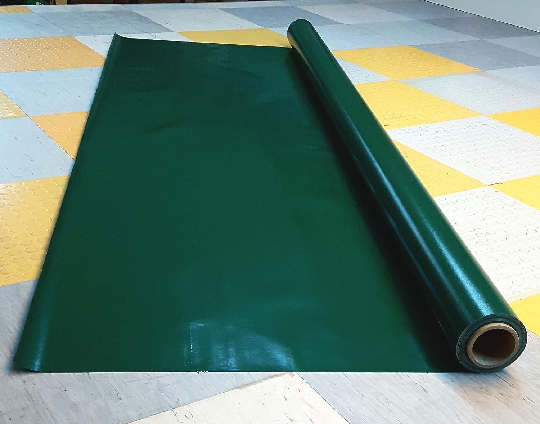 Lona de PVC varios colores fabricada en Alemania 650 g Rojo 2,50 ancho