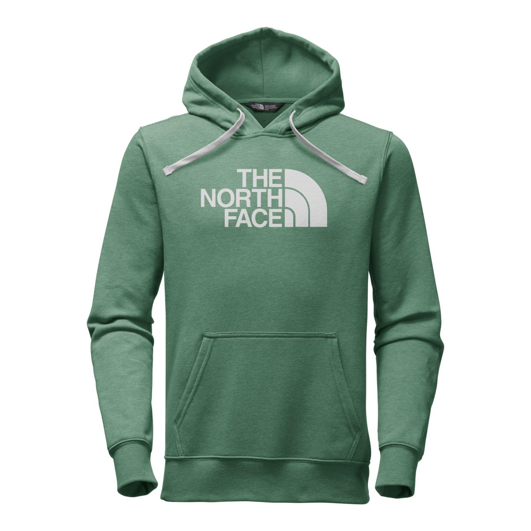 The North Face Men's Half Dome Hoodie - Smoke Pine Heather/Glacier Gray - L