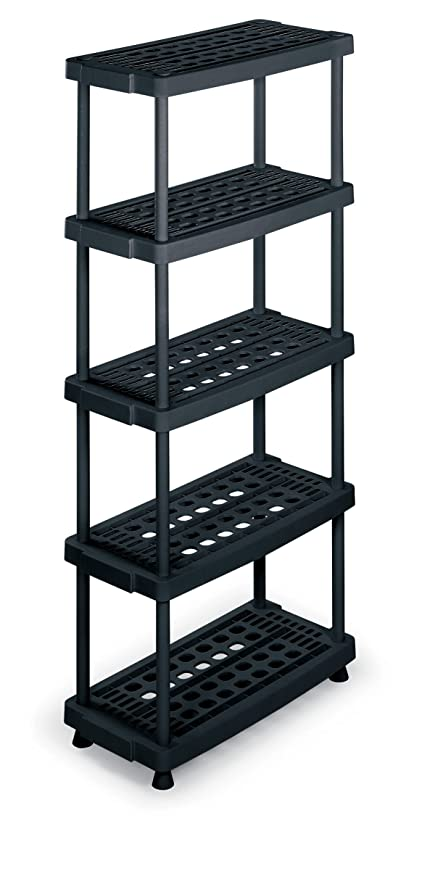 Scaffalature In Plastica.Terry Scaffale 8040 5 In Plastica 79 X 39 X 176 Cm