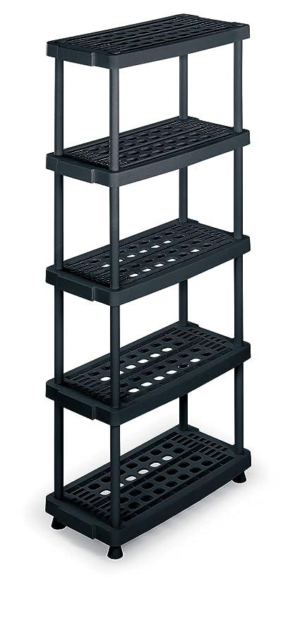 Scaffalature Plastica Componibili.Terry Scaffale 8040 5 In Plastica 79 X 39 X 176 Cm