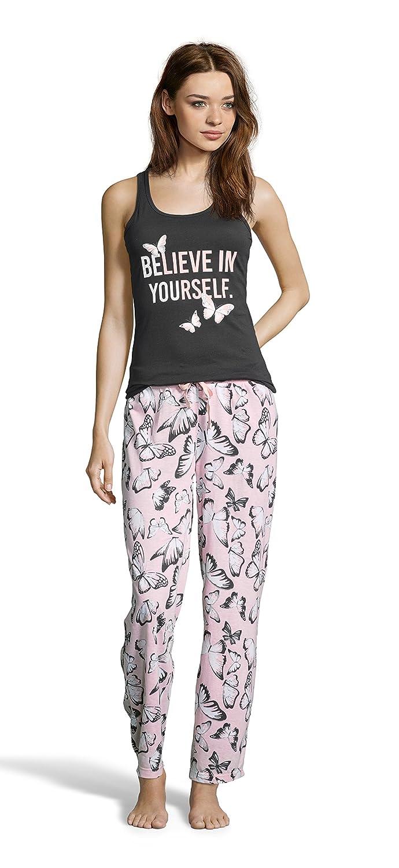 fa496075e49fa9 Womens Printed Tank Top and Pajama Pant Sleepwear Set at Amazon Women s  Clothing store