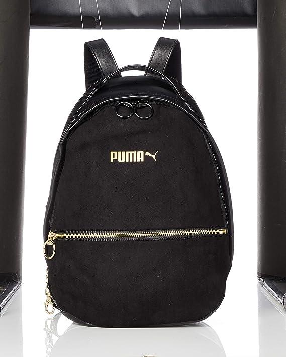 maquillaje Circunstancias imprevistas Hacer  Amazon.com: Puma Puma Premium - Mochila para mujer, color negro: Sports &  Outdoors