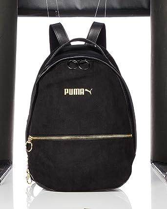 8ed6ca66a5 Puma Prime Premium Archive, Backpack Femme, Puma Black, OSFA: Amazon ...