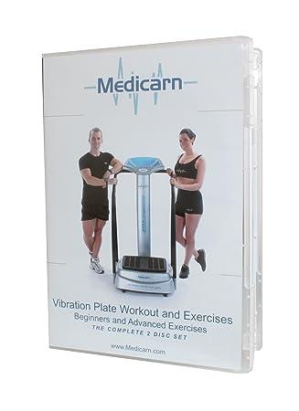 Medicarn Power Vibration Plate Exercise Workout - DVD de ejercicio ...