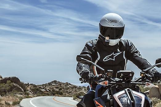 Amazon.es: Nuviz - Pantalla de cabecera para motocicleta con navegación integrada, comunicación, cámara y música