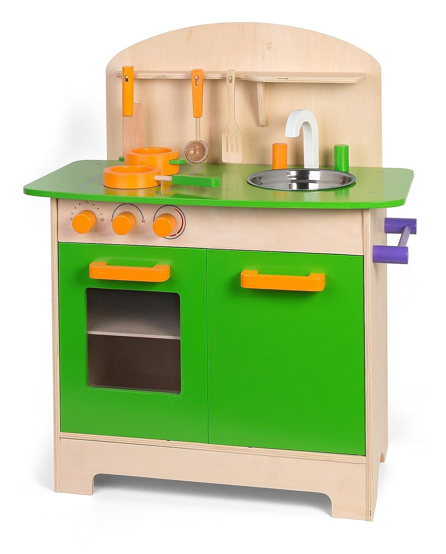 Legnoland 36583 - Cucina in Legno con Accessori: Amazon.it: Giochi ...