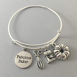 Baker Gift Bracelet for Her