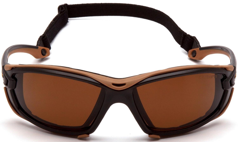 Realtree Xtra Frame Carhartt Toccoa Safety Glasses Gray H2MAX Anti-Fog Lens CHRT1020DTMP