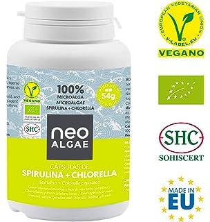 Spirulina y Chlorella en Cápsulas | Producción 100% Orgánica| Spirulina y Chlorella Ecológica |