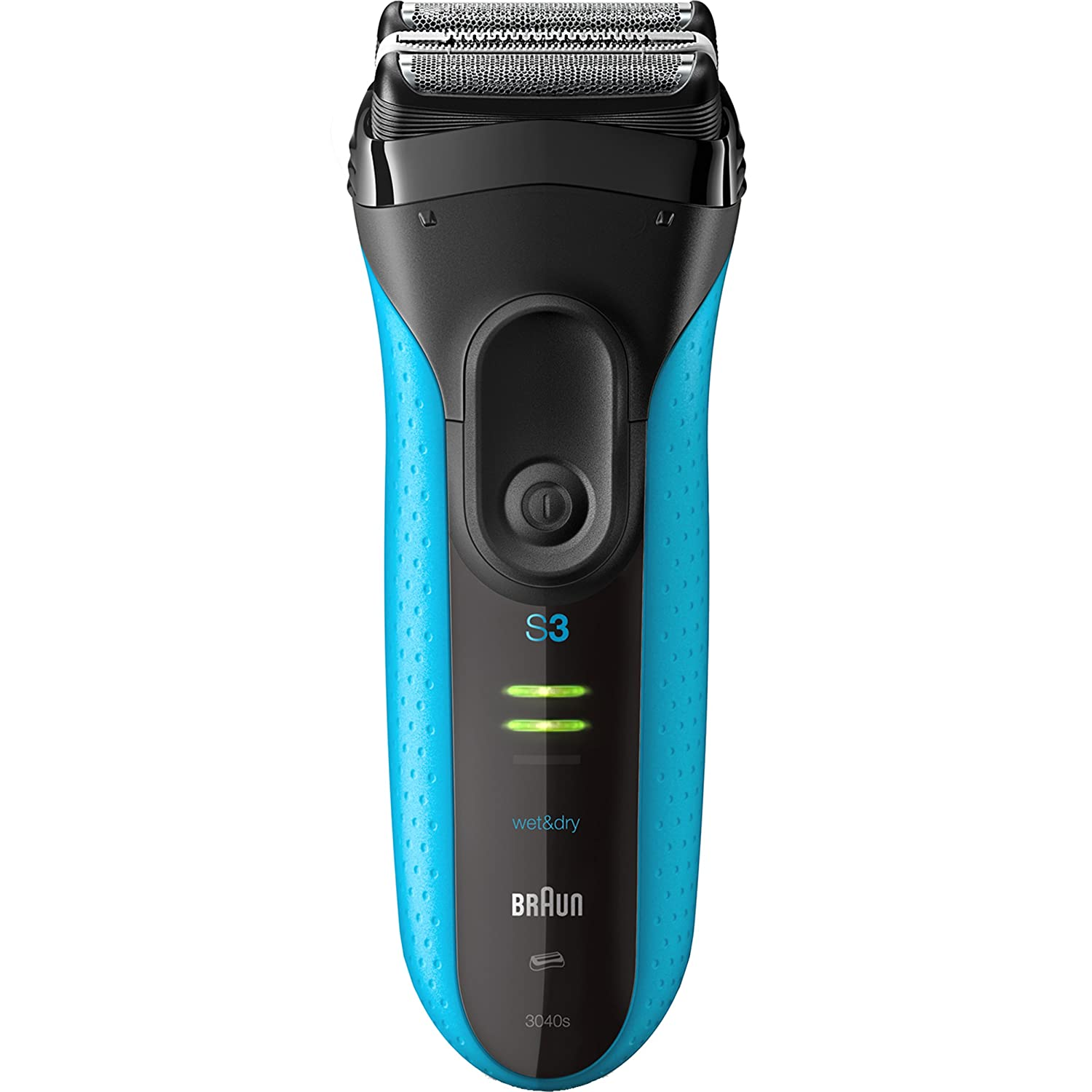 Amazon.com: Braun Electric Shaver, Series 3 ProSkin 3040s Menu0027s Electric  Razor / Electric Foil Shaver, Rechargeable, Wet U0026 Dry, Blue: Beauty
