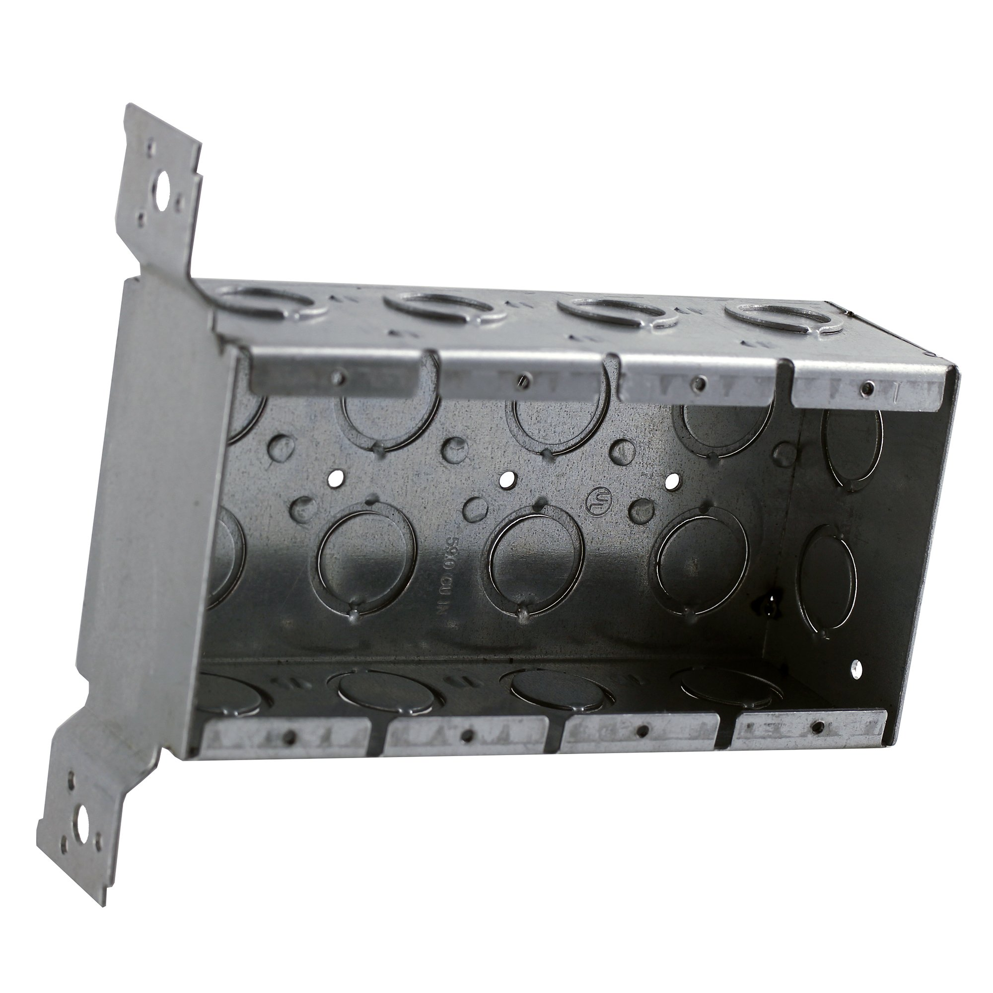 4 Gang 2 1/2'' Deep Switch Box w/FM brackets