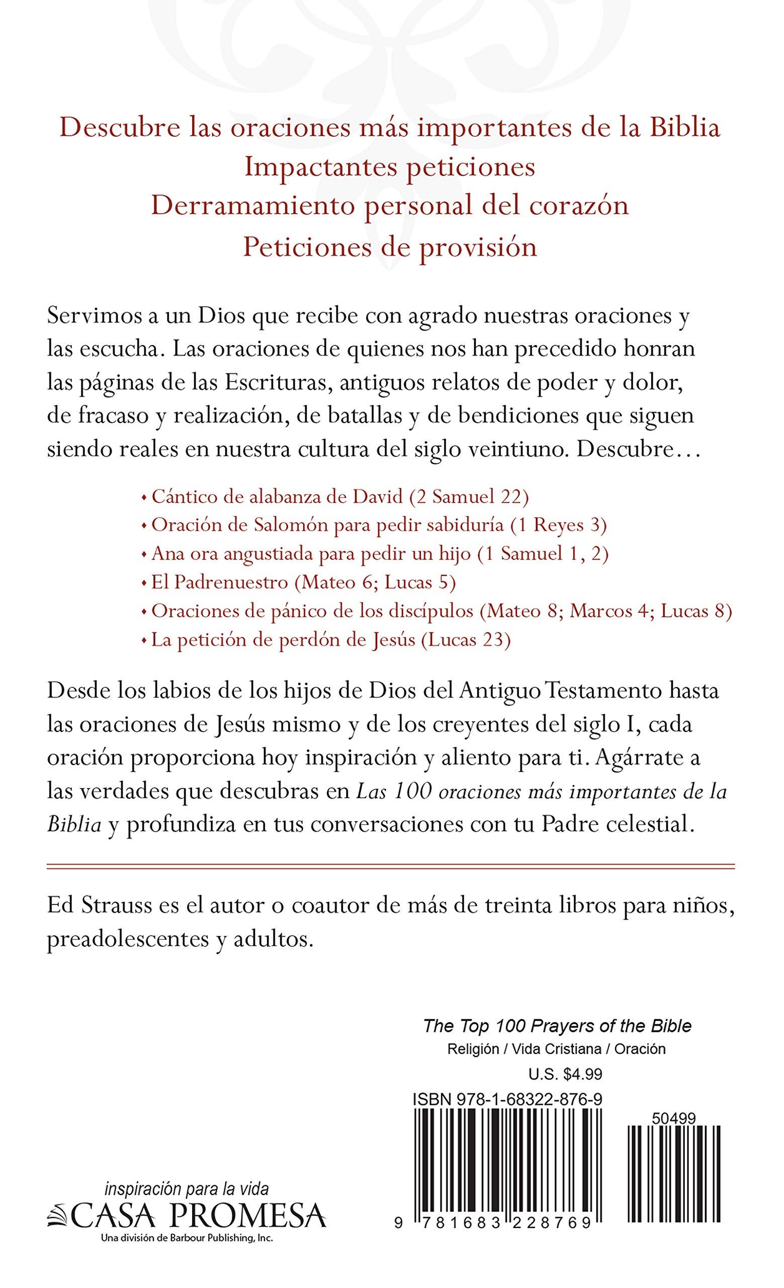 Las 100 Oraciones Más Importantes De La Biblia Spanish