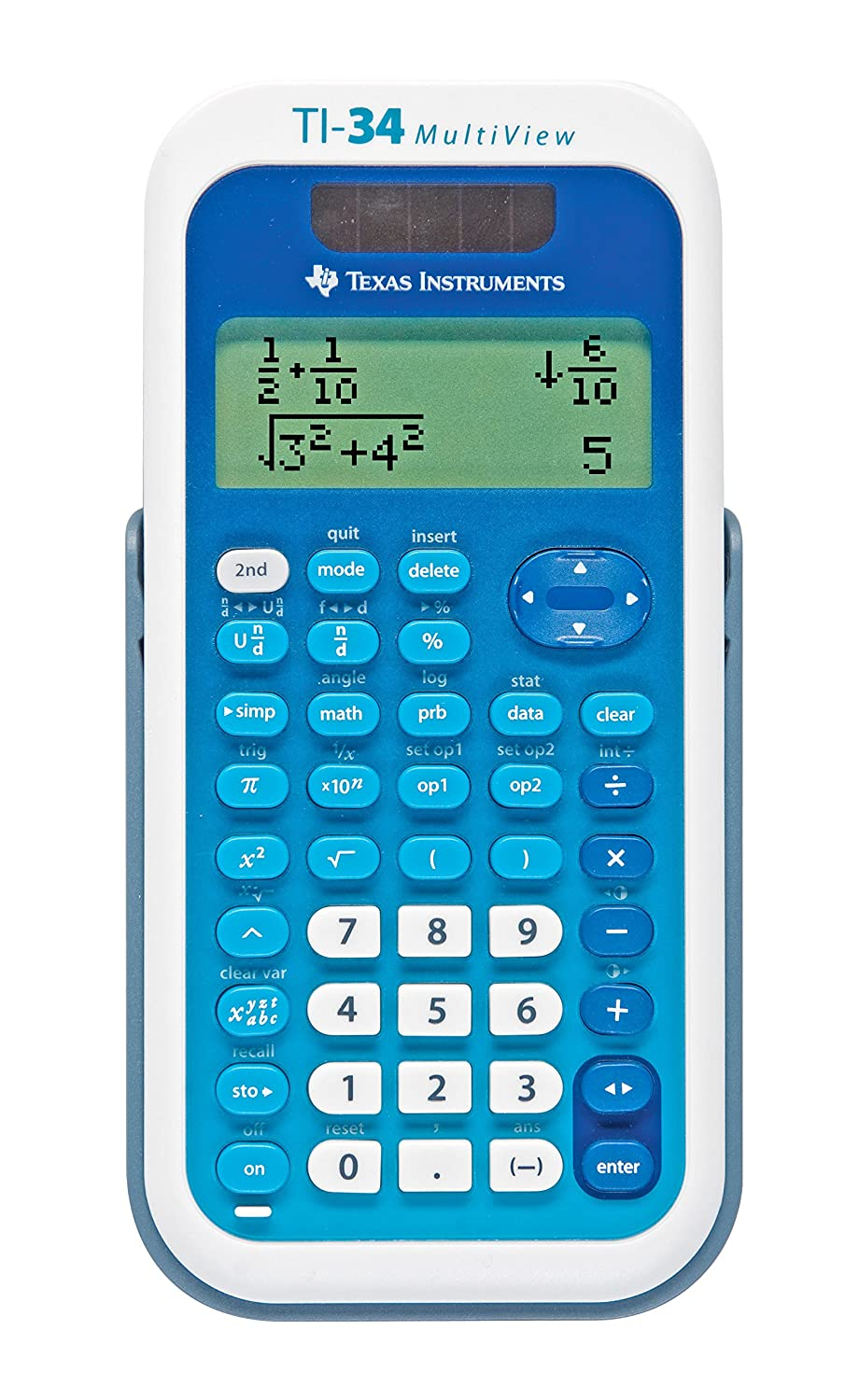 Amazon.com : Texas Instruments TI-34 MultiView Scientific Calculator ...