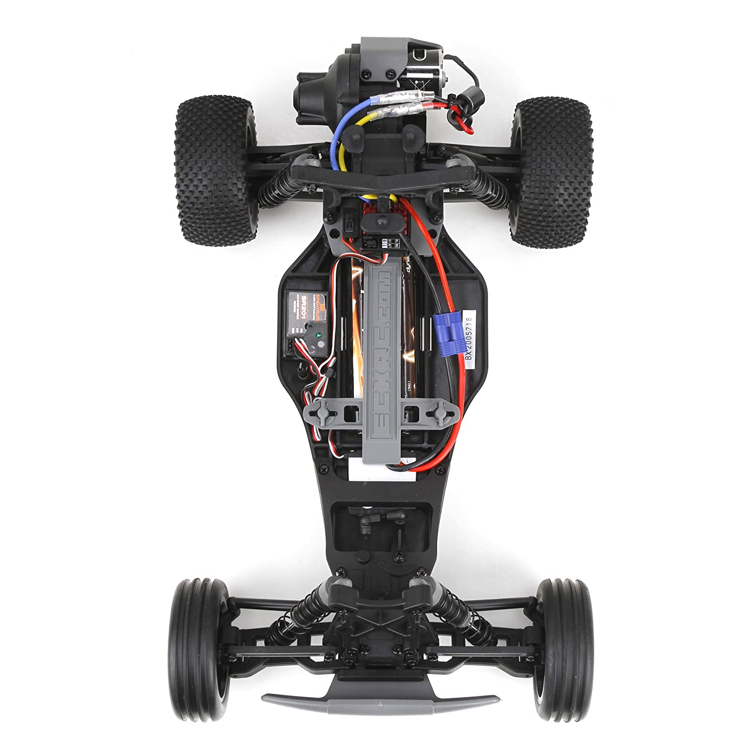 Amazon.com: ECX Boost 2WD RTR Buggy (1/10 Scale), White/Red: Toys ...