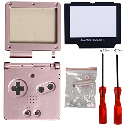 Amazon com: GBA SP Gameboy Advance SP Full Housing Case
