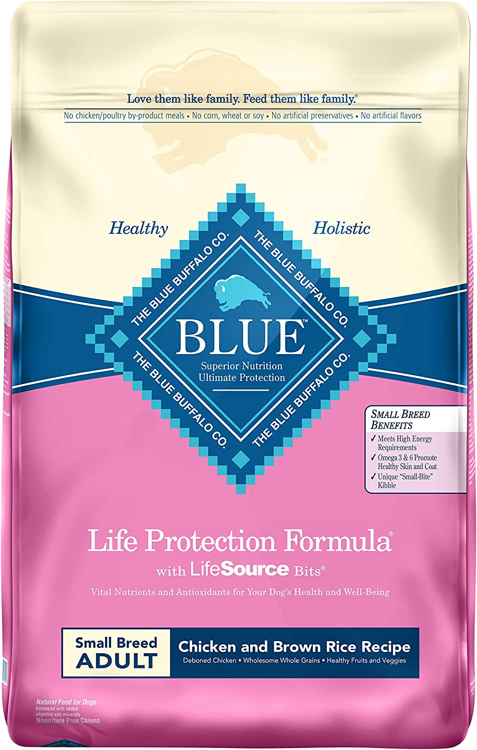 8. Blue Buffalo Life Protection Formula Small Breed