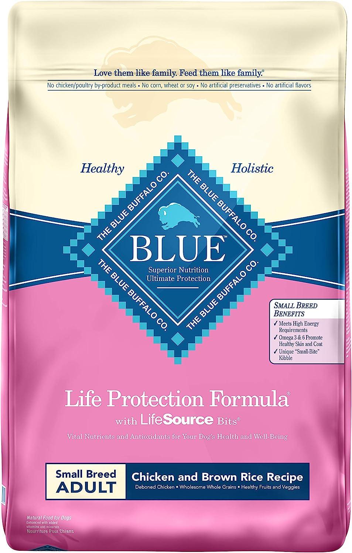 4. Blue Buffalo Life Protection Formula Small Breed Dry Dog Food