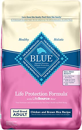 Blue Buffalo Life Protection Formula Small Breed Dog Food - The Best Bones and Joints Diet for Small Dog Breeds
