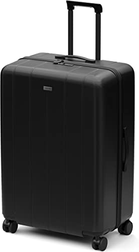 CHESTER Maxima Large Spinner Checked Luggage 31 Lightweight Polycarbonate Hardshell Spinner Suitcase Checked Luggage Onyx Black , Large Checked Luggage