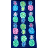 Mainstay Pineapple Beach Towel, 28 X 60-Inch