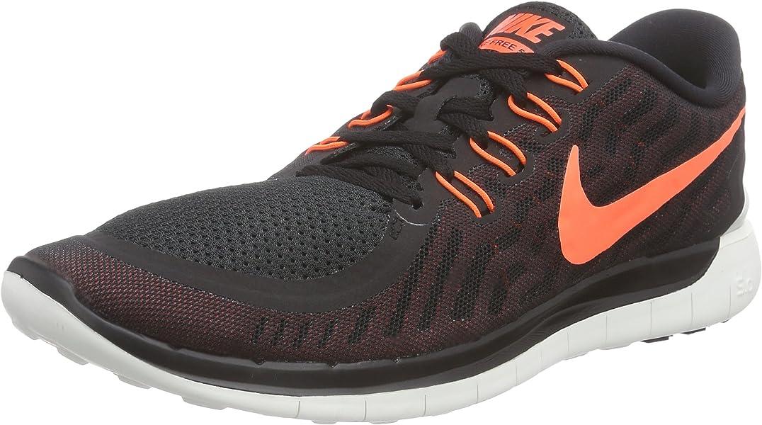 the best attitude 36671 ab71b Nike Free 5.0 Herren Laufschuhe, Mehrfarbig (Black), 45 EU