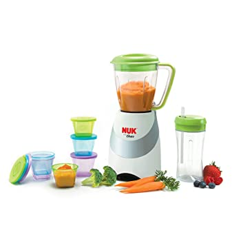 NUK Green 62109 Smoothie Blender For Baby Food