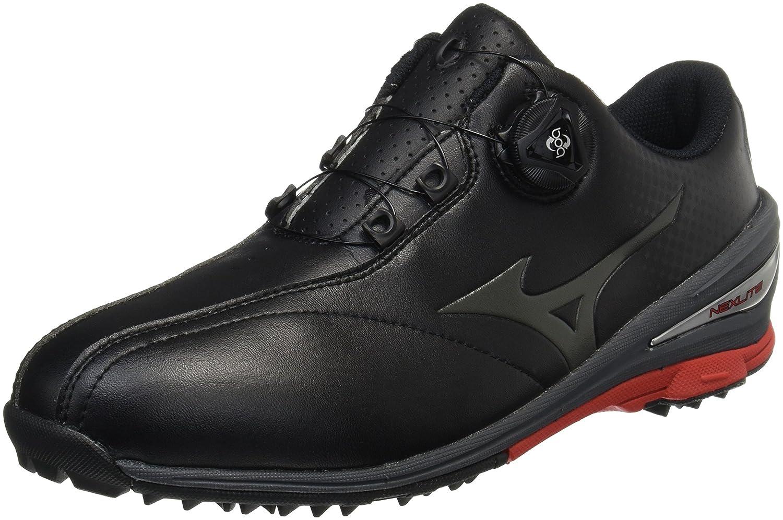 [ミズノゴルフ] ゴルフシューズ ネクスライト 004 ボア メンズ ブラック/ブラック 26.0 cm 3E