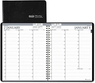 product image for Doolittle 27202 Recycled Professional Weekly Planner, 15-Min Appointments, 8.5 X 11, Black, 2017