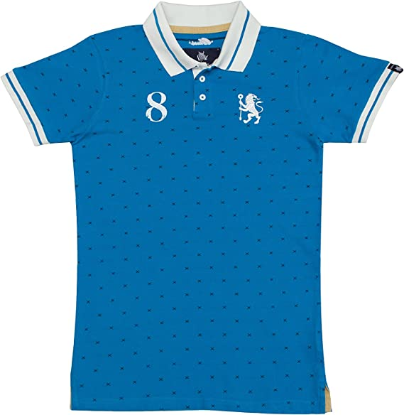 Coolligan - Polo de Fútbol Retro 1905 Blues - Color - Azul - Talla ...