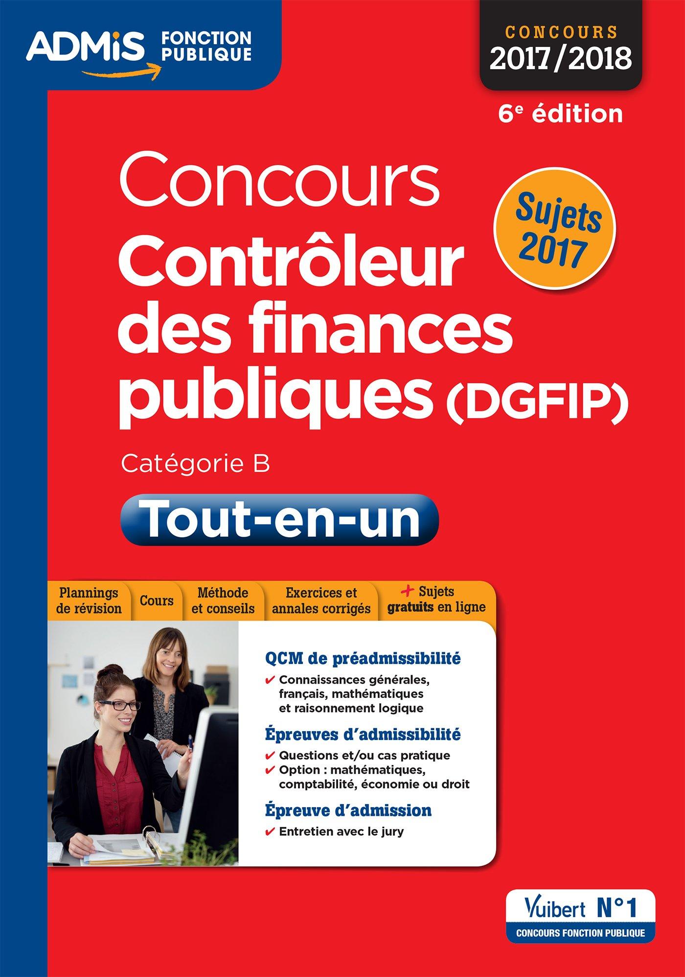 Amazon Fr Concours Controleur Des Finances Publiques Dgfip