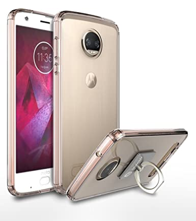Amazon.com: Moto Z2 Force Funda, style4u resistente a ...