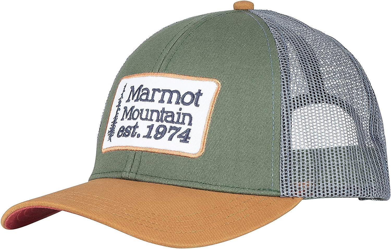 Marmot Retro Trucker Hat Casquette Anti-UV Mixte