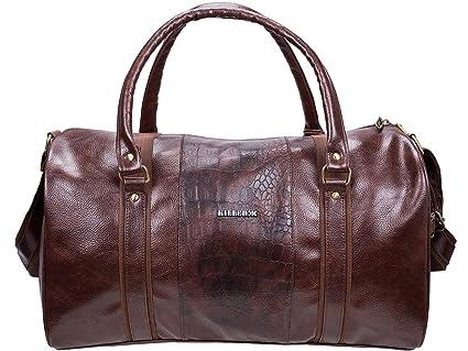 b3fd7673c220 KILLER 30 L Polyester Duffle Bag (Brown)  Amazon.in  Bags