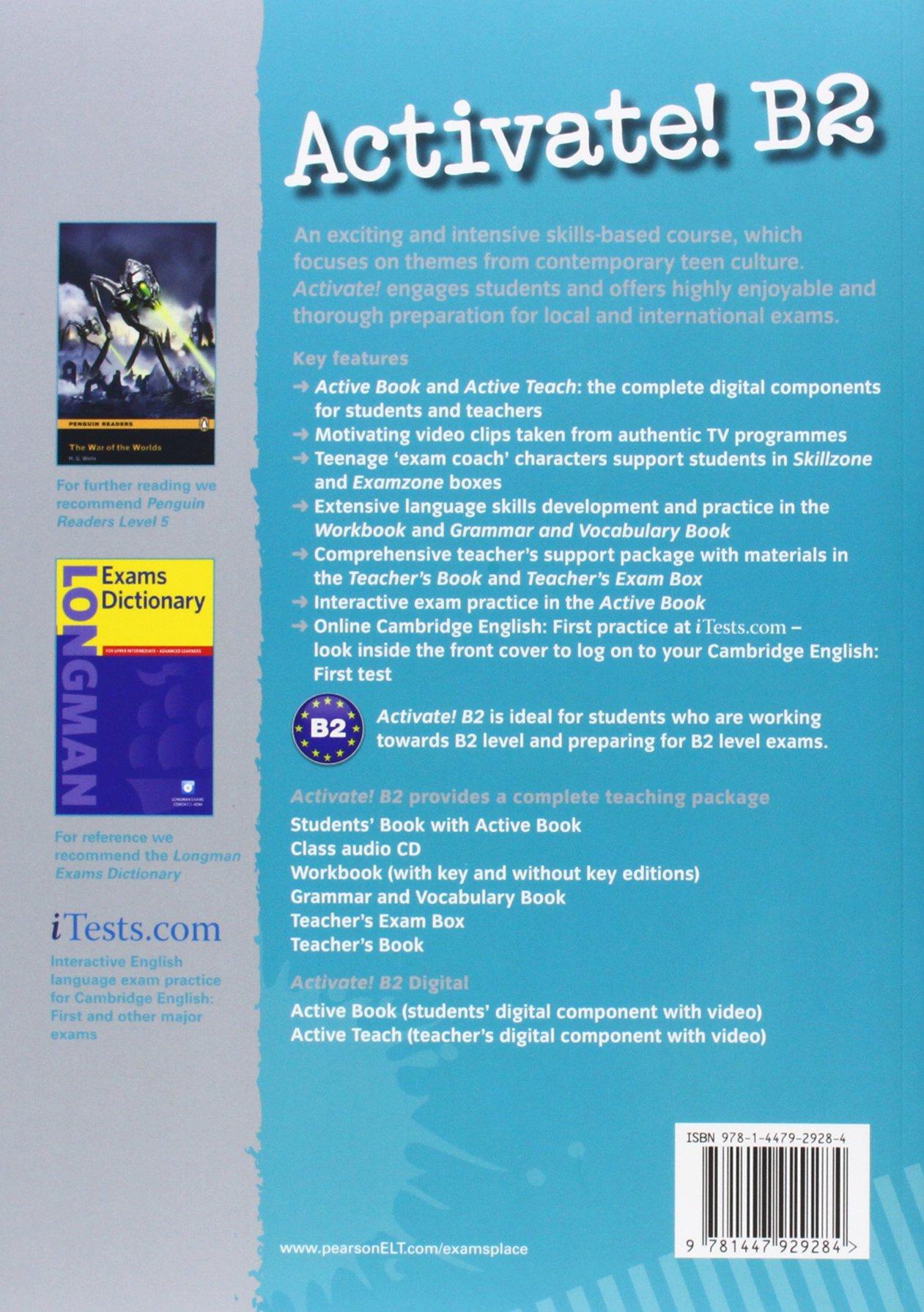 Activate B2 Teachers Book