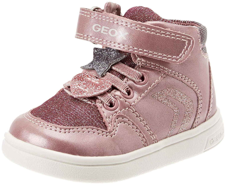 Geox Baby Mädchen B Djrock Girl A Sneaker B841WA0NFEWC8006