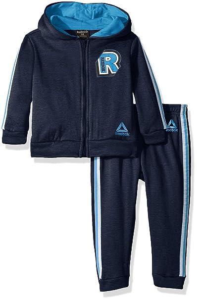 8160dc92b Reebok - Sudadera con Capucha y pantalón de chándal para niño ...