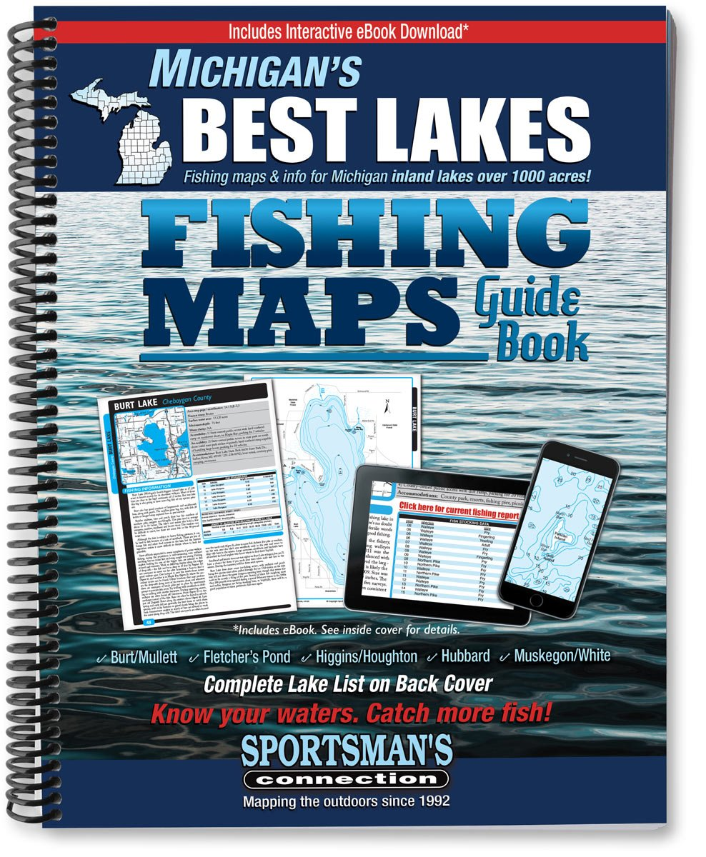 muskegon lake fishing map Buy Michigan S Best Lakes Fishing Map Guide Fishing Maps Guide Book Book Online At Low Prices In India Michigan S Best Lakes Fishing Map Guide Fishing Maps Guide Book Reviews Ratings muskegon lake fishing map
