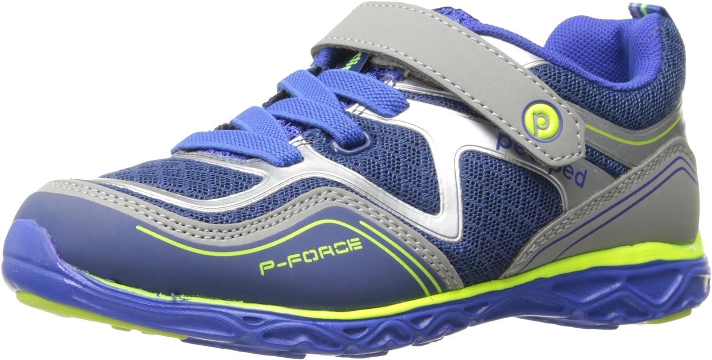 Pediped Force, Zapatillas Unisex niños, Azul (Blue Silver Blsl), 33 EU: Amazon.es: Zapatos y complementos