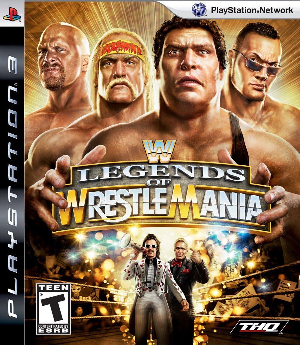 WWE Legends of Wrestlemania [UK-Import]: Amazon.es: Electrónica