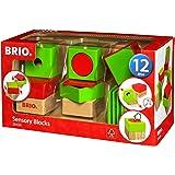 BRIO 30436 Infant and Toddler Sensory Blocks