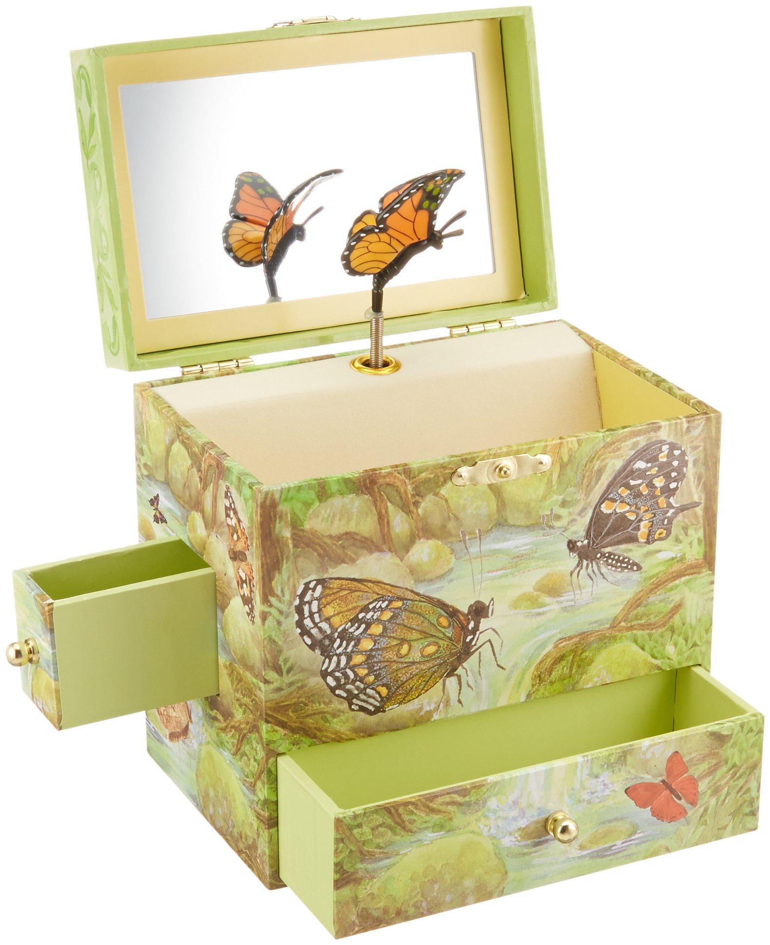 Enchantmints Monarchs Butterfly Music Jewelry Box by Enchantmints (Image #3)