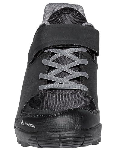 Vaude Unisex-Erwachsene AM Downieville Low Mountainbike Schuhe, Schwarz (Black/Chute 618), 37 EU