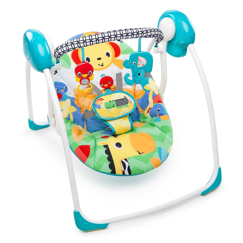 Bright-Starts - Columpio Portátil Bright Starts Safari Smiles multicolor Kids II 60403