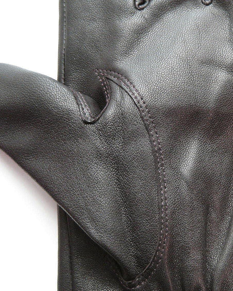 Tanners Avenue Mens Classic Premium Genuine Lambskin Leather Winter Gloves