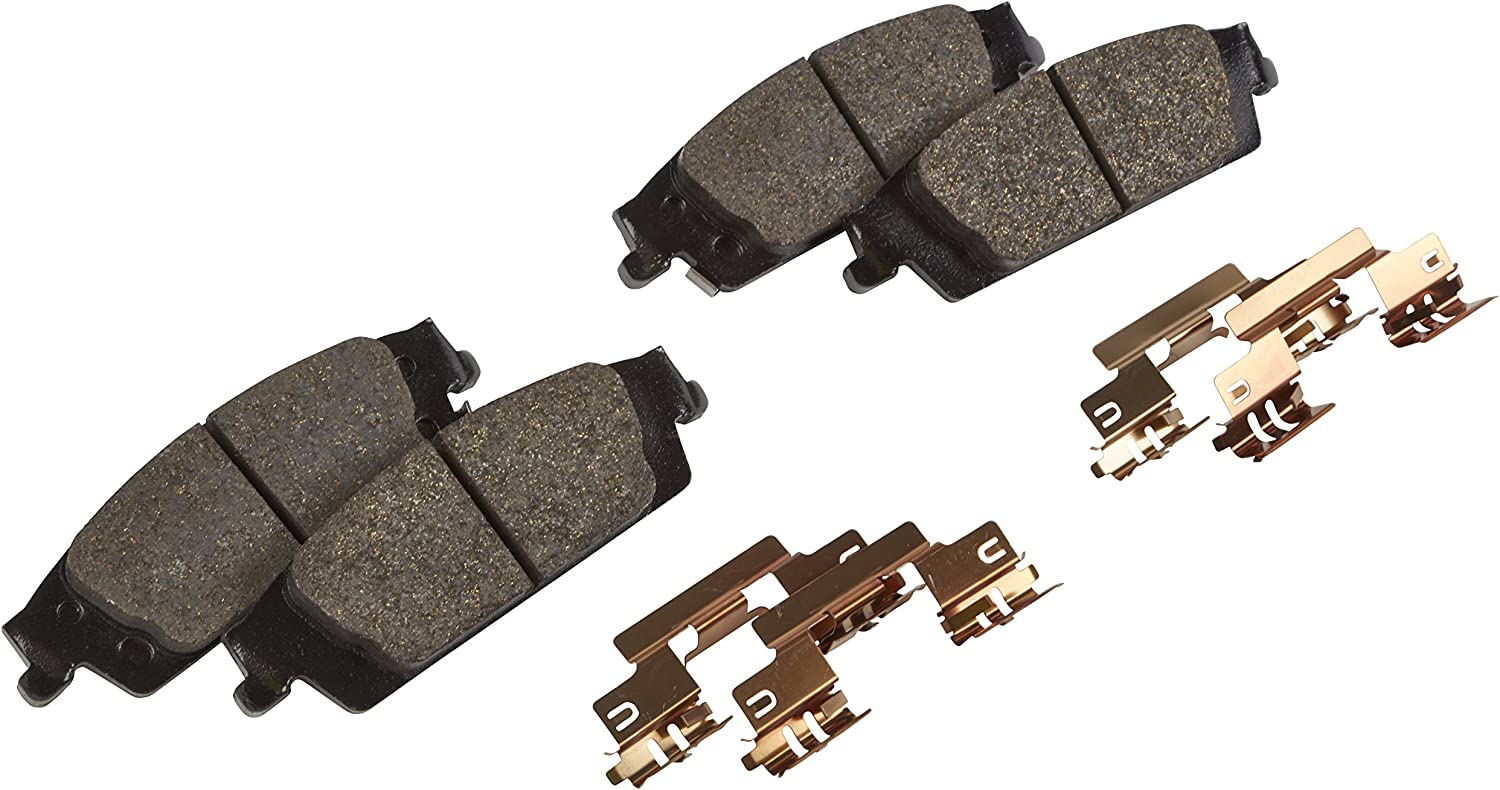 ACDelco 171-1228 GM Original Equipment Rear Disc Brake Pad Kit with Springs