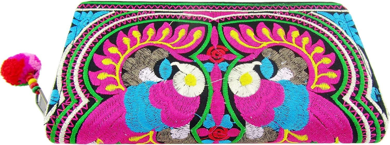 Peacock Hmong Wallet Hippie...