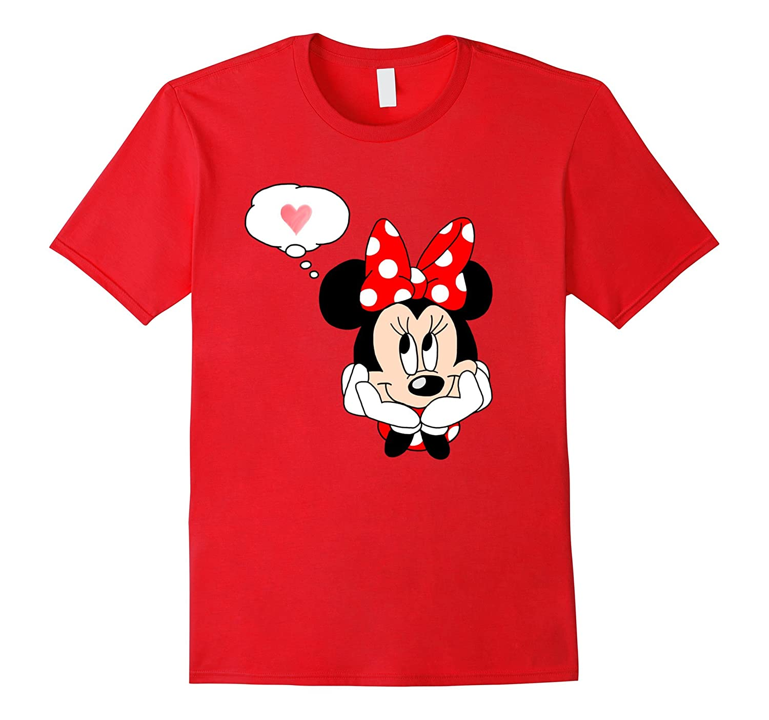 Minnie Mouse Love Shirt Womens T Shirt Fashion Bn Banazatee