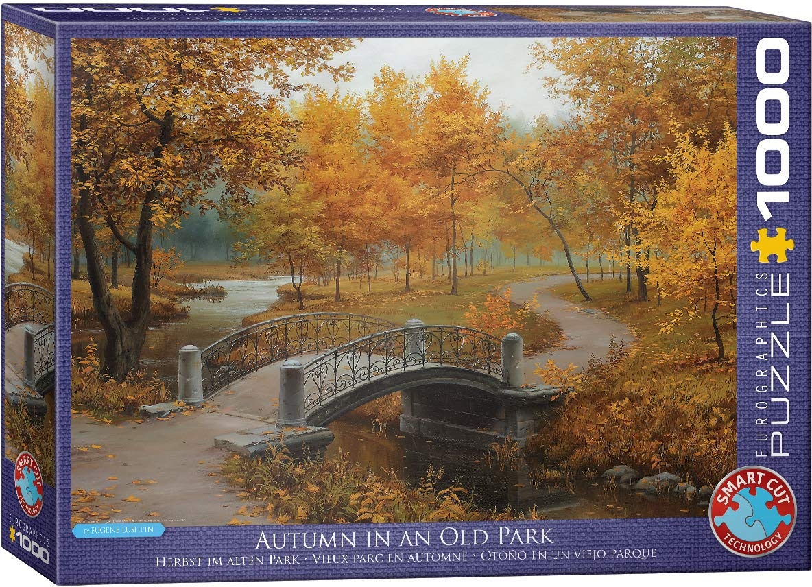 Toys 6000-0979 Autumn in an Old Park by Eugene Lushpin 1000-Piece Puzzle Eurographics