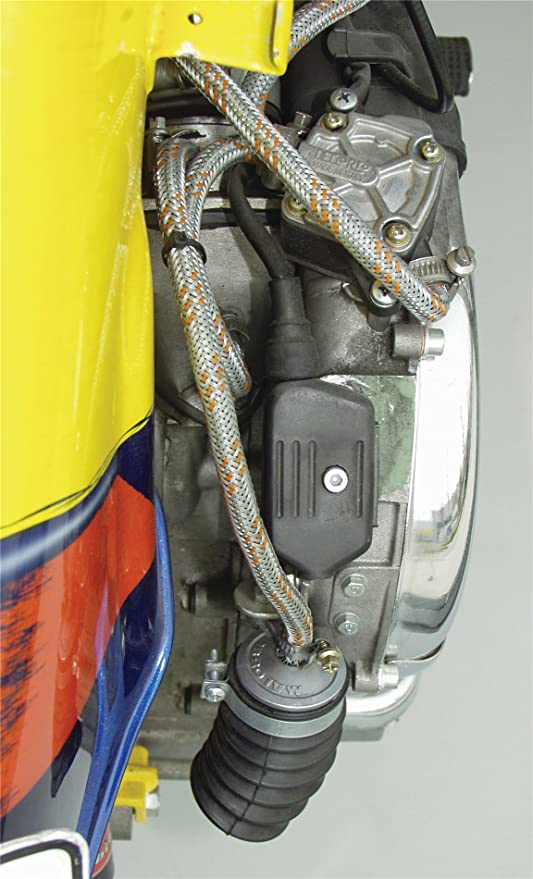 Malossi Boost Bottle Macsi Schwarz Kunststoff Inkl Montagematerial Auto
